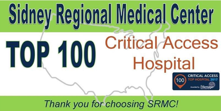 SRMC named as Top 100 Critical Access Hospital
